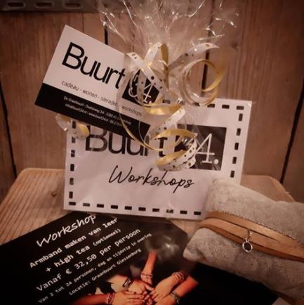 workshop cadeaubon